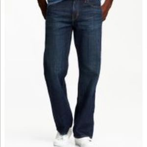 Old Navy Jeans - Brand New Men's Old Navy Dark Wash Jeans 44x30